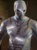The Flash S05 Revealed August Heart White Leather Jacket