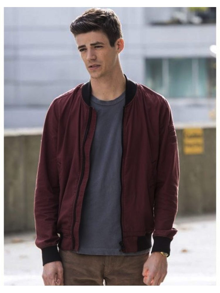 The Flash S06 Barry Allen Bomber Jacket