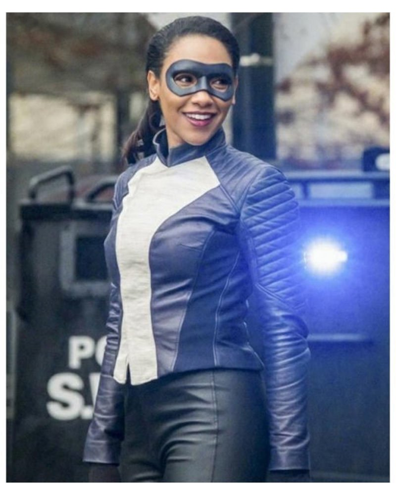 The Flash Speedster Candice Patton Leather Jacket
