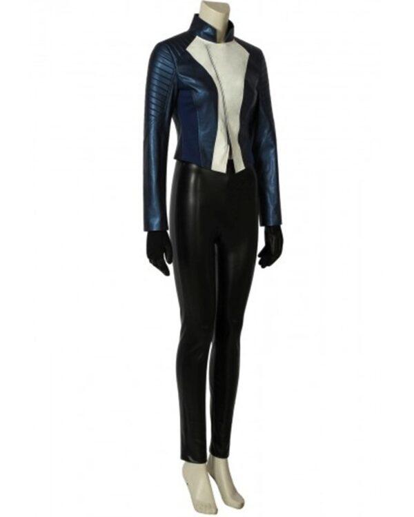 The Flash Speedster Iris West Allen Blue Jacket
