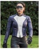 The Flash Speedster Iris West Allen Leather Jacket