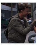 The Flash Tom Cavanagh Quilted Green Bomber Jacket