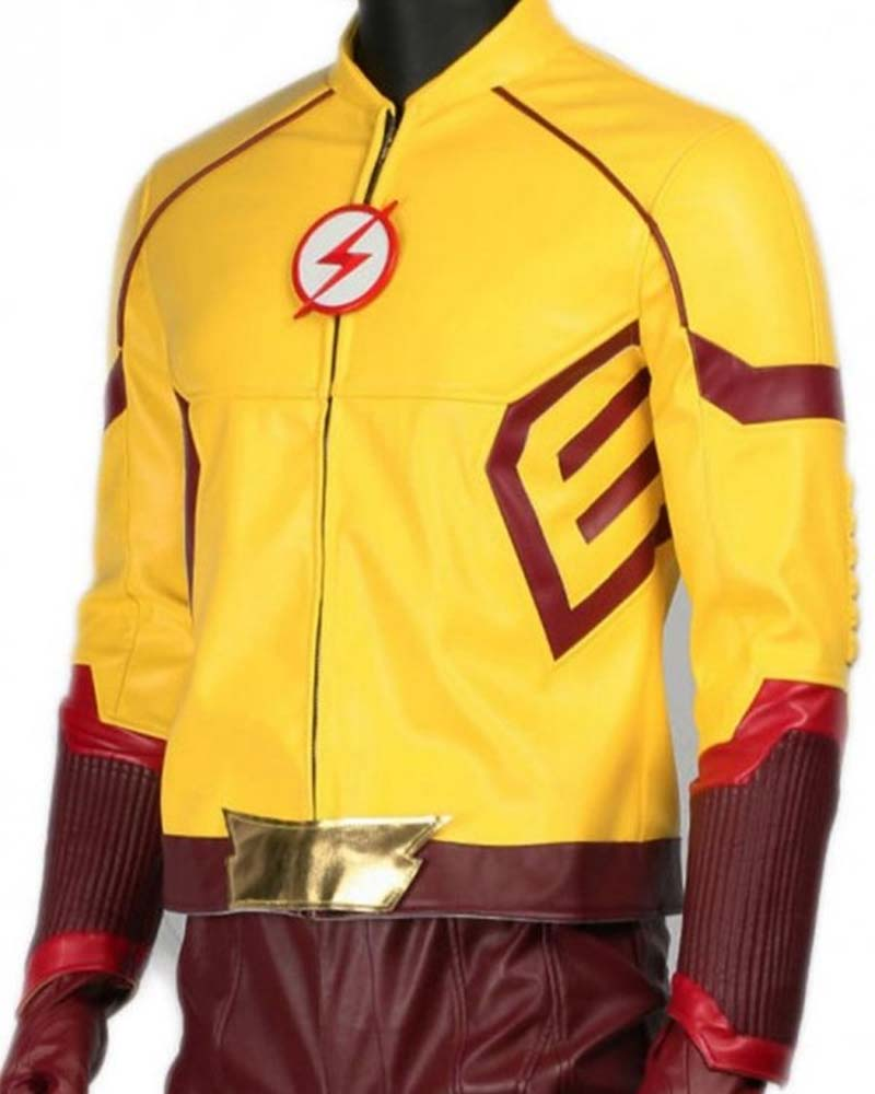 The Flash Wally West Kid Flash Jacket