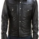 The Walking Dead David Morrissey Leather Jacket