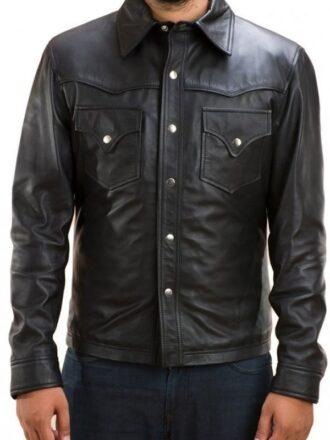 The Walking Dead David Morrissey Leather Jacket