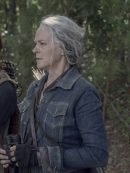 The Walking Dead Melissa McBride Blue Denim Jacket