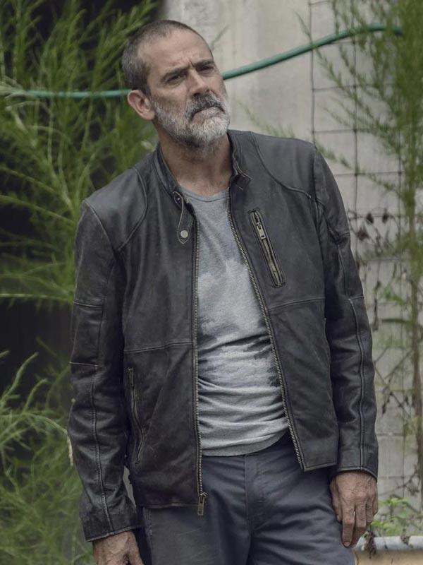 The Walking Dead S09 Negan Leather Jacket