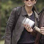 The Walking Dead World Beyond Huck Black Leather Jacket
