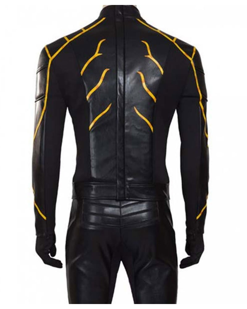Todd Lasance The Flash Rival Leather Jacket