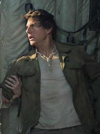 Tom Cruise The Mummy Army Green Jacket