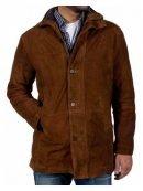 Tv Series Longmire Robert Taylor Brown Suede Coat