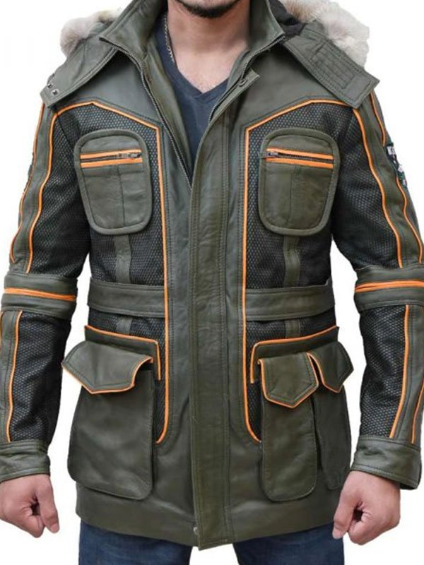 Tv Series Lost In Space Molly Parker Green Parka Jacket