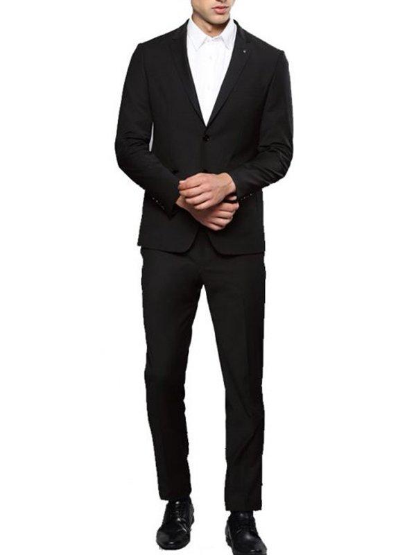Tv Series Lucifer Tom Ellis Black Suit For Mens