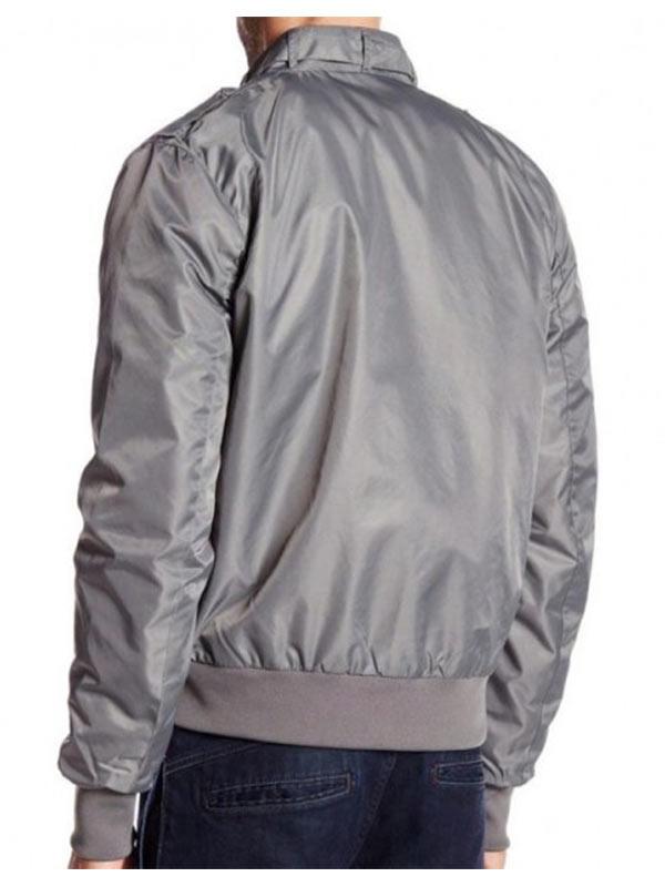 Tv Series Stranger Things Joe Keery Bomber Grey Jacket