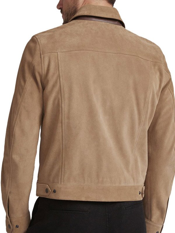 Tv Series The Walking Dead S09 Andrew Lincoln Brown Cotton Jacket