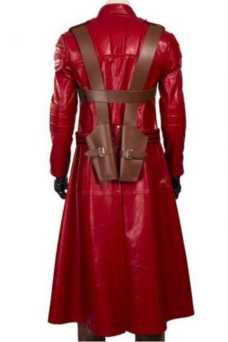 Video Game Devil May Cry3 Dante Red Leather Coat