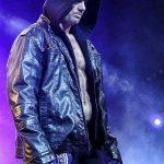 WWE Superstar AJ Style Hooded Leather Jacket