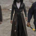 Watchmen Angela Abar Black Hooded Coat
