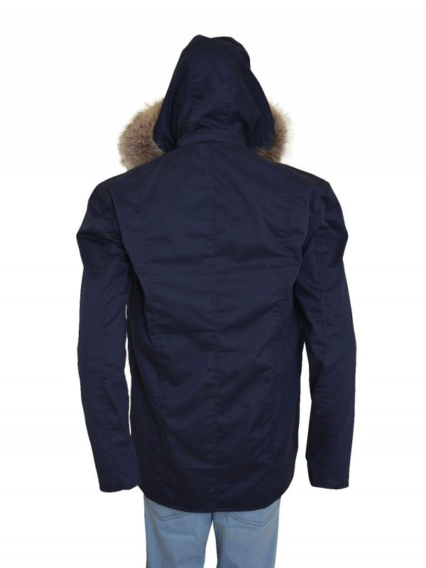 Wentworth Miller The Flash Captain Cold Fur Collar Coat