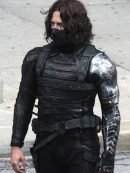 Winter Soldier Civil War Bucky Barnes Leather Jacket