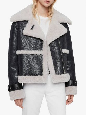 Women's Arlo Shearling Leather Jacket