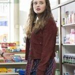 13 Reasons Why Hannah Baker Maroon Suede Jacket