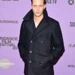 2020 Sundance Film Festival Nine Days Bill Skarsgård Peacoat