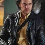 21 Bridges Taylor Kitsch Black Leather Jacket