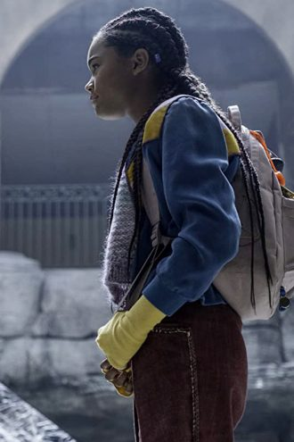 A Babysitter's Guide to Monster Hunting Tamara Smart Tricolor Jacket