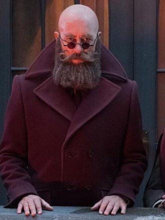 A Series of Unfortunate Events S03 Richard E. Grant Wool Coat