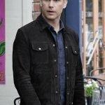 Alaric Saltzman Legacies Suede Black Jacket