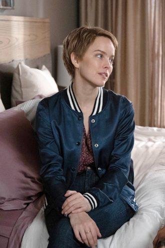 Allison Miller A Million Little Things S02 Varsity Bomber Jacket