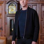 Bobby Axelrod Billions S05 Black Bomber Jacket