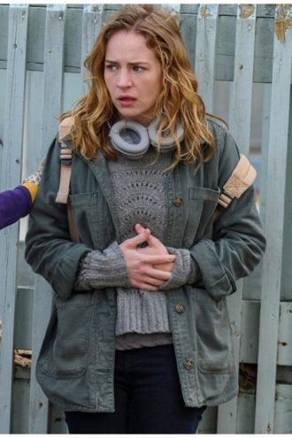 Britt Robertson Books of Blood Cotton Jacket