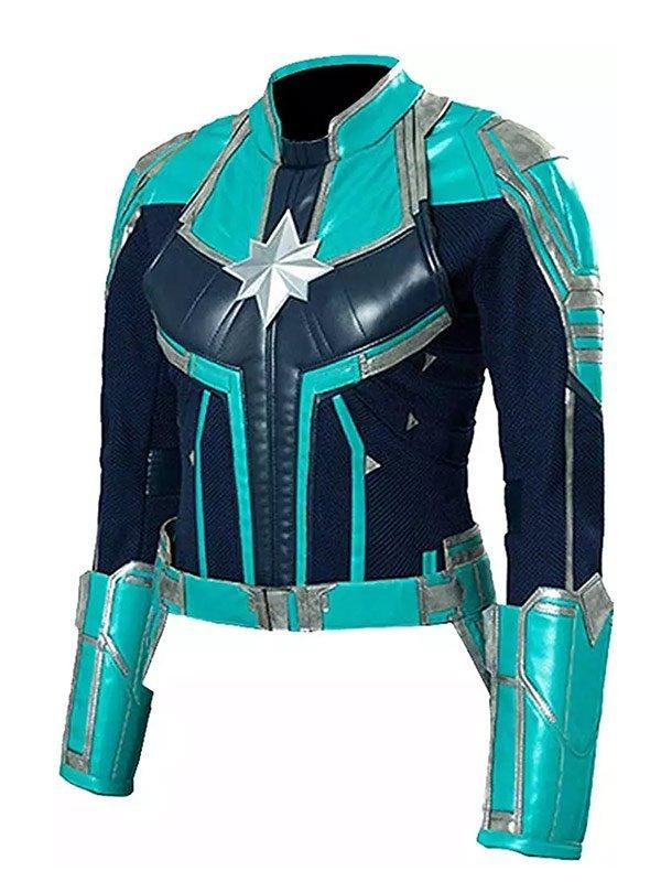 Captain Marvel Brie Larsons Costume Jacket