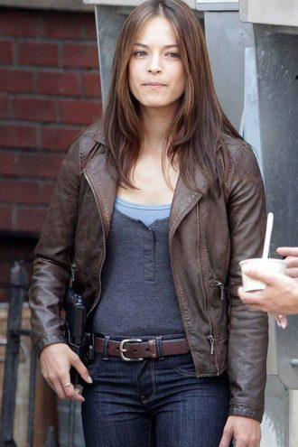 Catherine Chandler Beauty And The Beast Leather Jacket