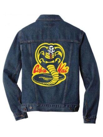 Cobra Kai Blue Denim Jacket