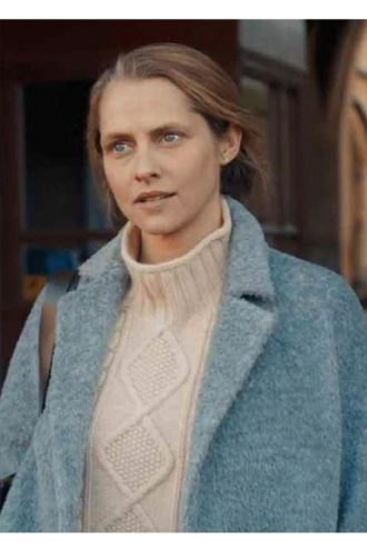 Diana Bishop A Discovery of Witches Blue Trench Coat