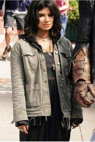 Diane Guerrero Doom Patrol Driver 8 Cotton Jacket