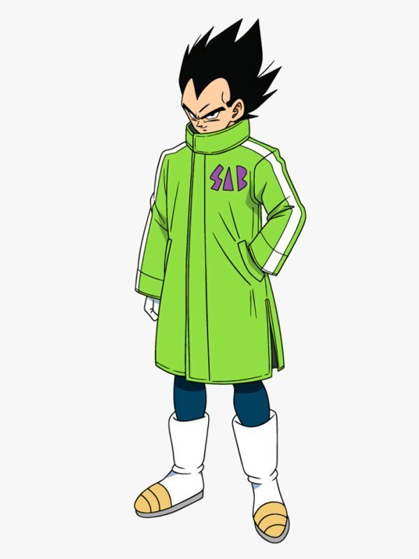 Dragon Ball Super Goku & Broly Vegeta SAB Coat