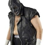 Evil Uno AEW Black Leather Vest