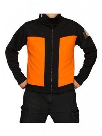 Japanese Warrior Naruto Uzumaki Jacket