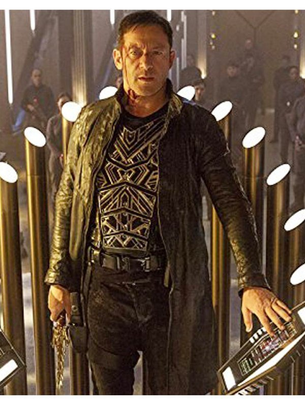 Jason Isaacs Star Trek Discovery Leather Coat