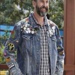 Jeremy Black-ish Blue Denim Jacket