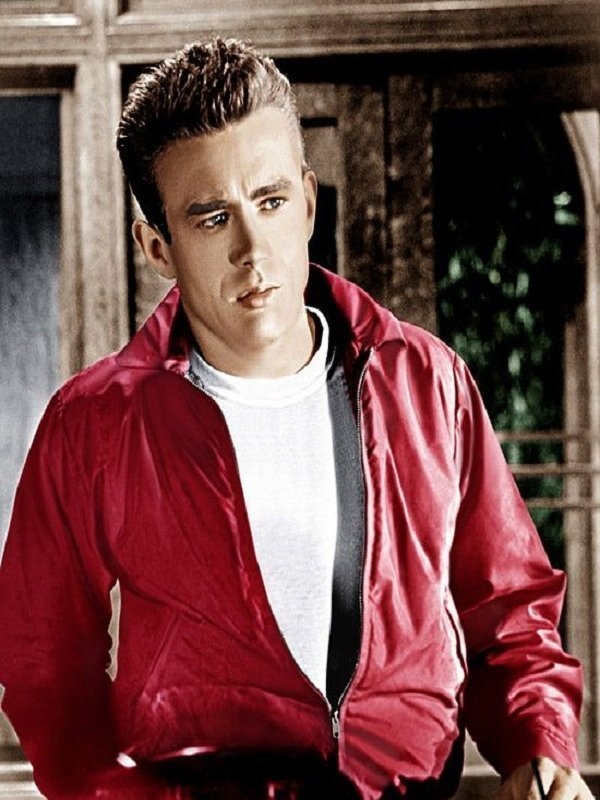 Jim Stark Rebel Without A Cause Red Cotton Jacket