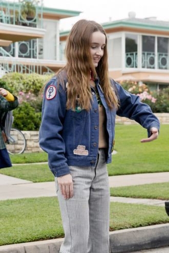 Kaitlyn Dever Booksmart Denim Blue Jacket With Patches