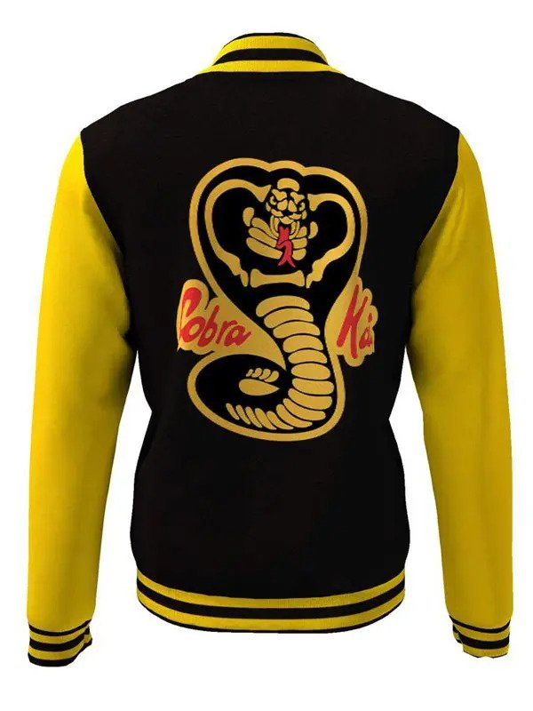 Moletom Karate Kid Cobra Kai Varsity Jacket