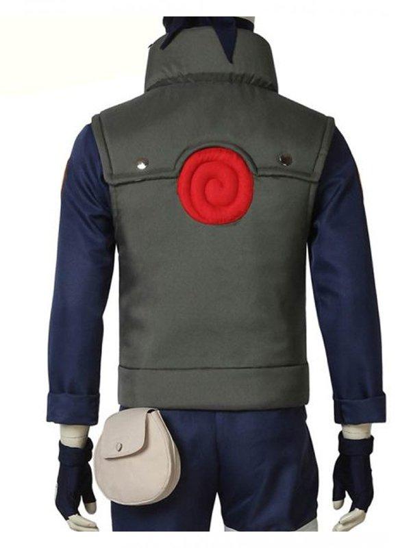 Naruto Kakashi Hatake Cotton Green Vest