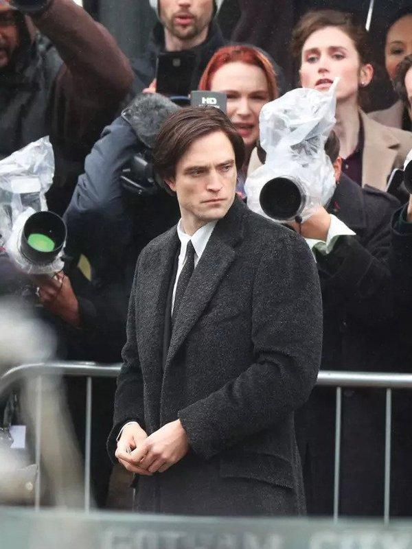 Robert Pattinson The Batman 2022 Coat