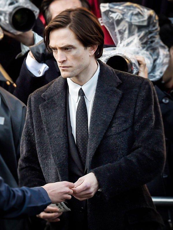 Robert Pattinson The Batman Black Coat